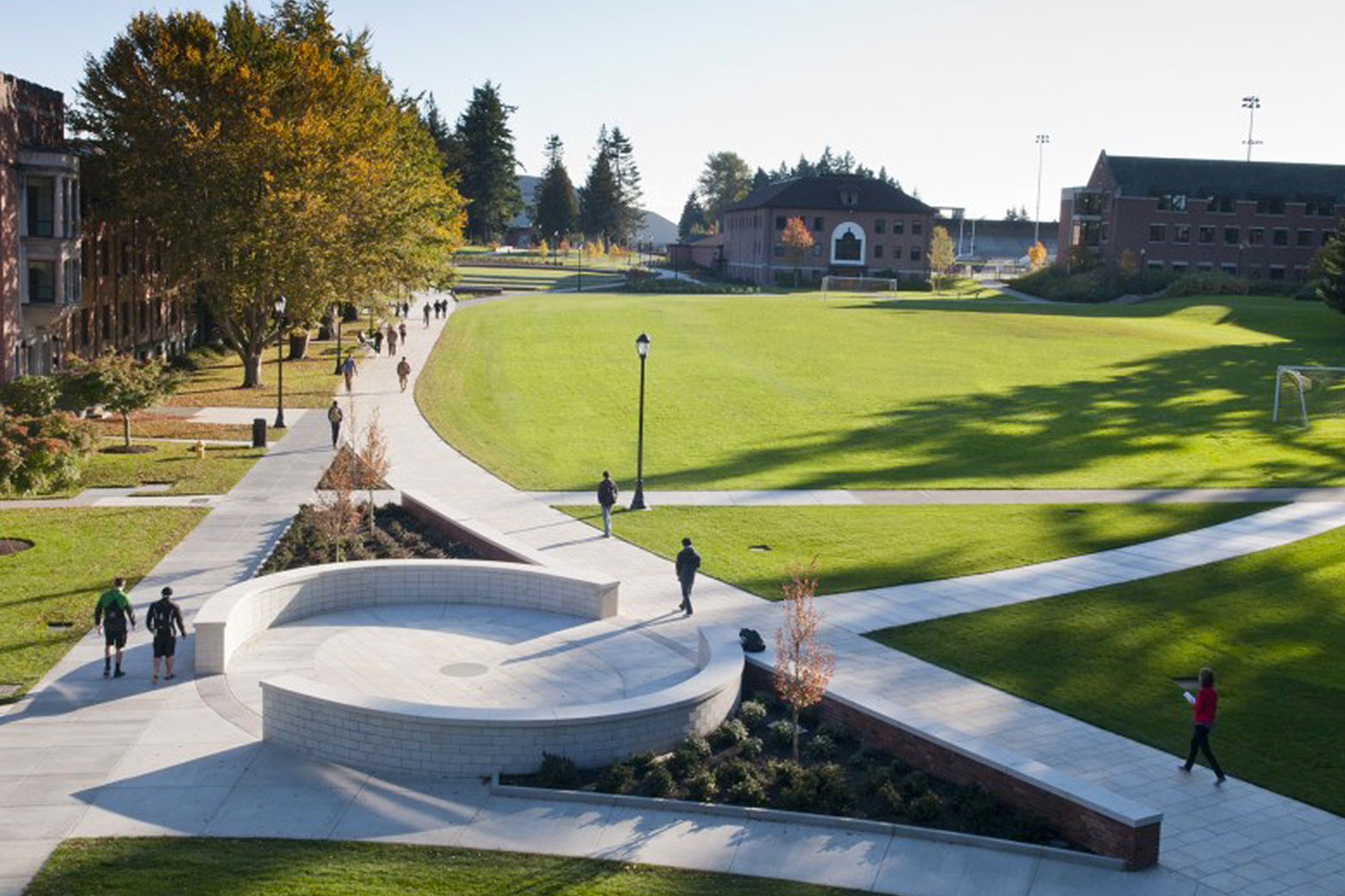 University of Puget Sound Commencement Walk