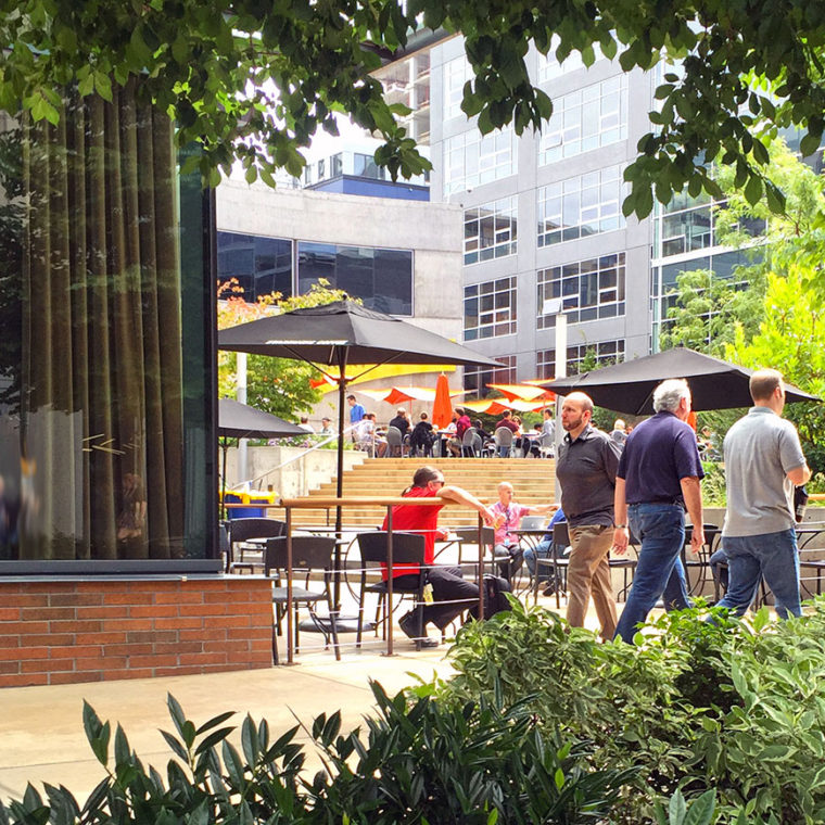 Amazon Headquarters and Terry Avenue Streetscape