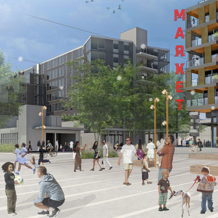Capitol Hill Transit Oriented Development Berger