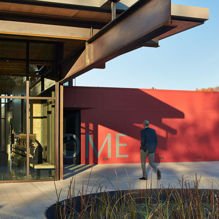 Washington State University, Brelsford Visitor Center