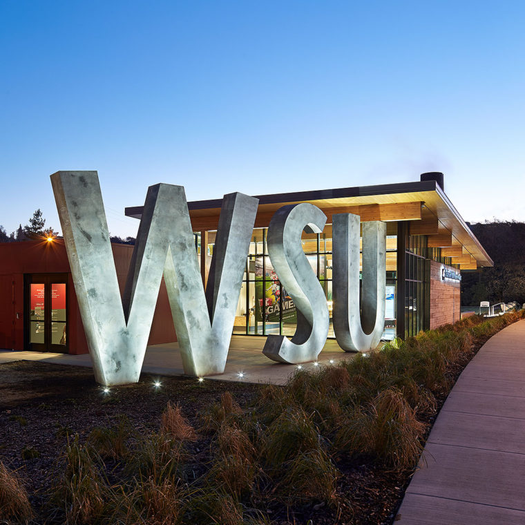 Washington State University, Brelsford Visitor Center